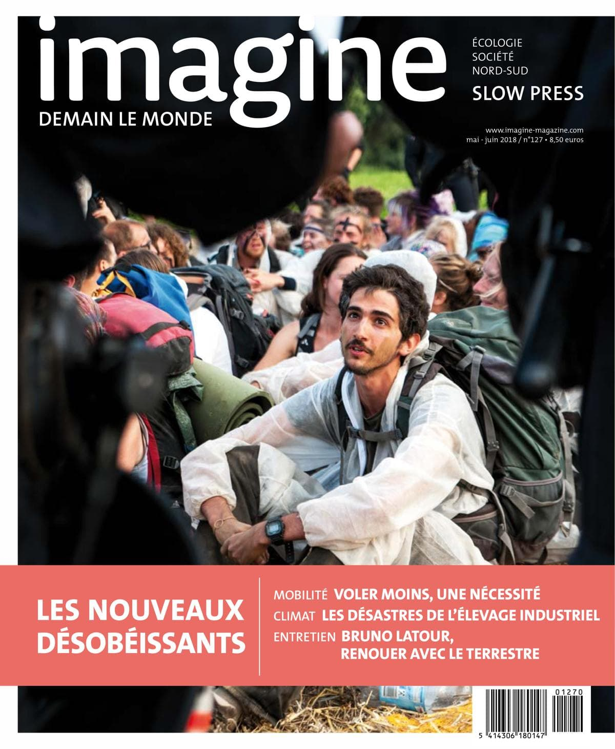 Couverture Imagine demain le monde, n°127