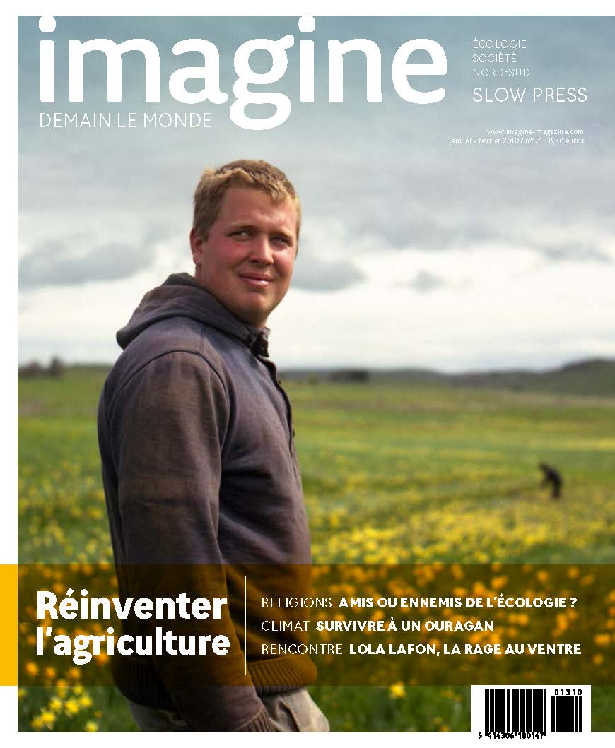 Couverture Imagine demain le monde, n°131 / Réinventer l'agriculture