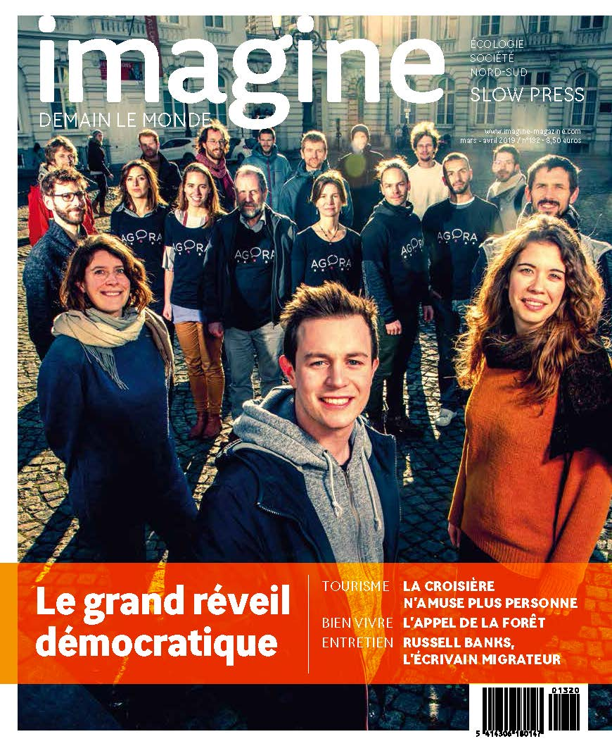 Couverture Imagine demain le monde, n°132 / Le grand réveil démocratique
