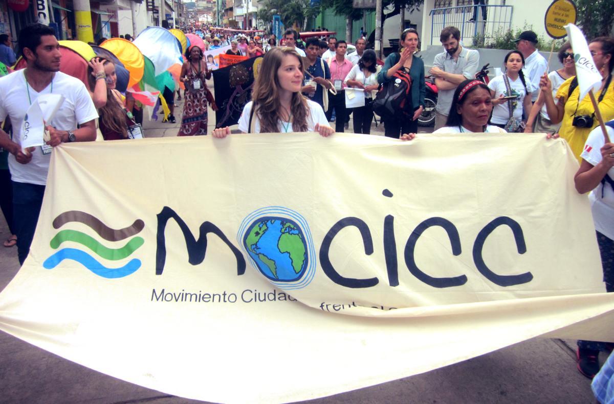 Le MOCICC au Forum social panamazonien