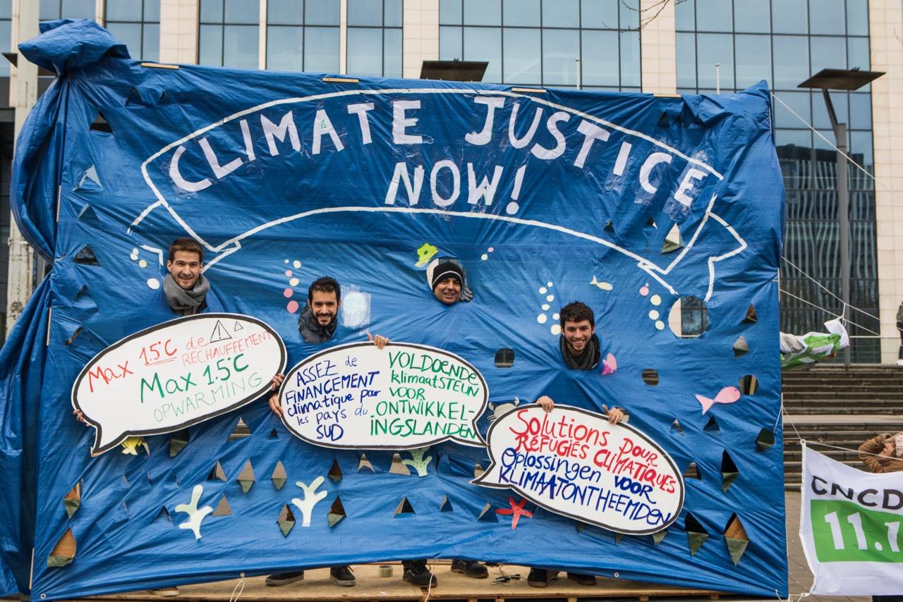 #ClaimTheClimate. Marée humaine à Bruxelles pour la justice climatique