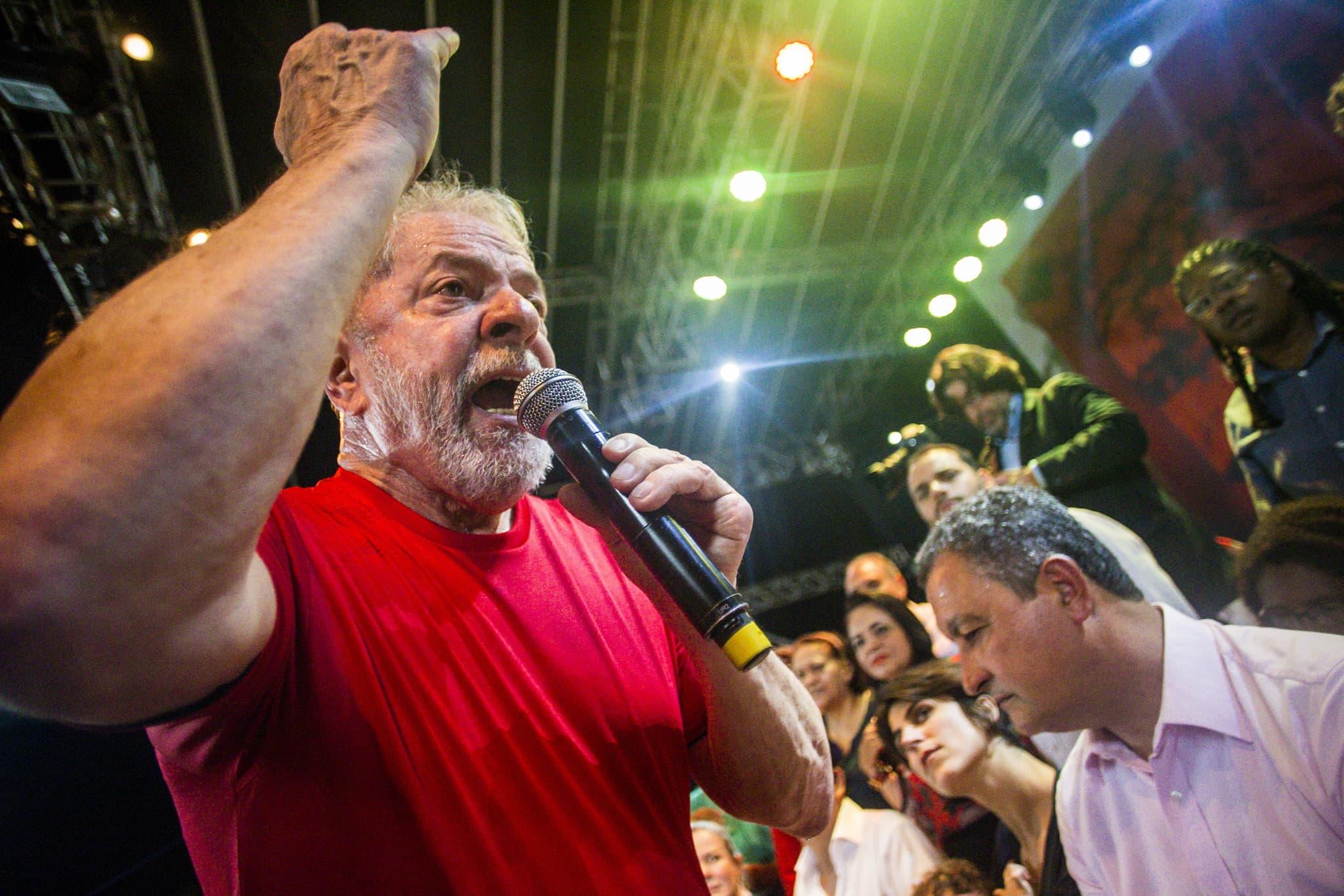 Lula en marge du Forum social mondial
