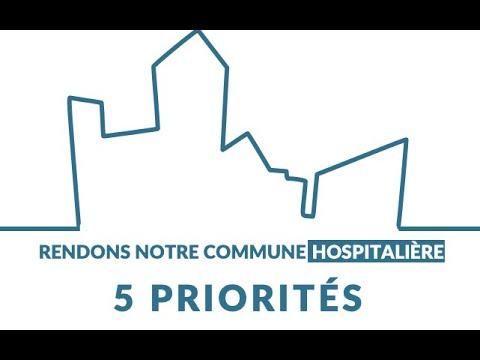 Les 5 priorités d'une commune hospitalière